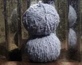 Soft Sky Blue RECLAIMED Acrylic Yarn
