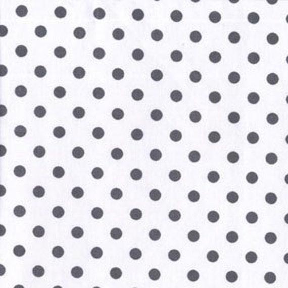 Dumb Dot Haze Charcoal Gray Polka Dots by Michael Miller Fabrics, SALE