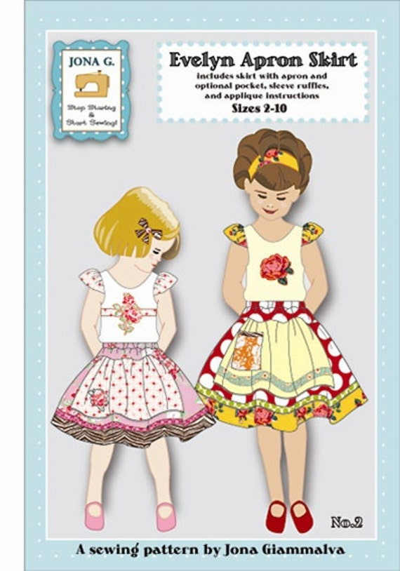Apron Skirt Pattern 59