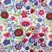 Kaori Floral Indochine Fabric  Bright Floral by Alexander Henry Designer Fabric