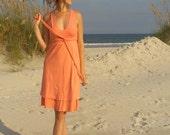 Double V Dress (hemp/organic cotton blend)