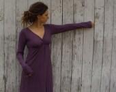 Organic Market Long Dress (organic cotton knit) organic dress