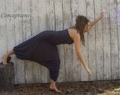 ORGANIC Love Me 2 Times Hammer Time Jumper ( locally grown organic cotton knit ) - organic harem pants