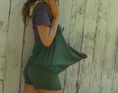 Organic Simplicity Short Skort - ( light hemp and organic cotton knit ) - Organic Skort