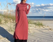 ORGANIC Let it Snow Long Dress (hemp/organic cotton fleece)