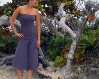 Organic Love Me 2 Times Wanderer Gauchos - ( light hemp and organic cotton knit ) - organic shorts