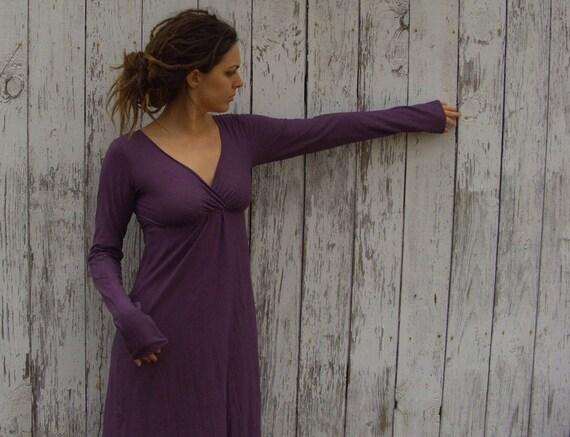 Organic Market Simplicity Long Dress (organic cotton knit) organic dress