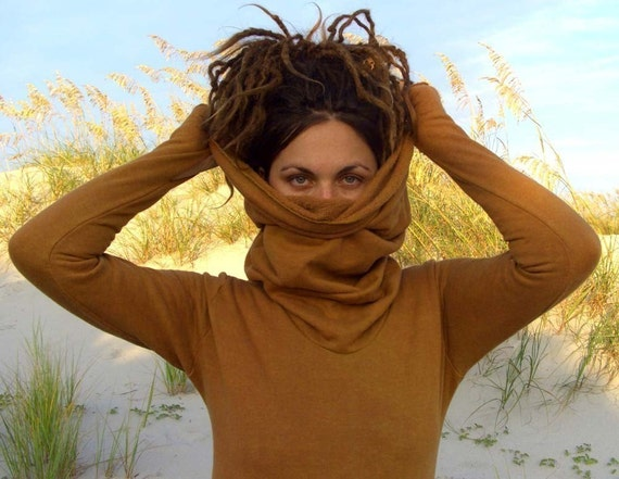 ORGANIC Pokara Shirt ( organic hemp and cotton fleece) - organic hemp shirt