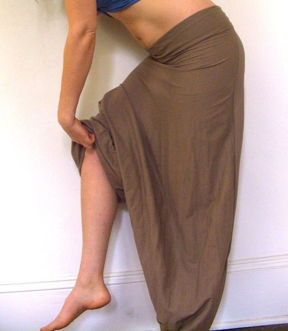 The Scrunch Ankle....... Free Movement Pant\/Skirt (Local Organic Cotton)