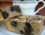 Kahlua - Coffee Sweet Almonds and Vanilla  - scrumptious soap - 5 oz - aka the OMG  Soap