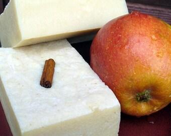 Apple Cinnamon goat milk soap - delicious