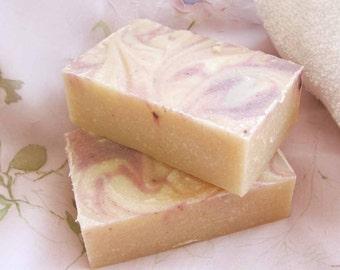 Goat Milk  Soap - English Briar Rose - delightful
