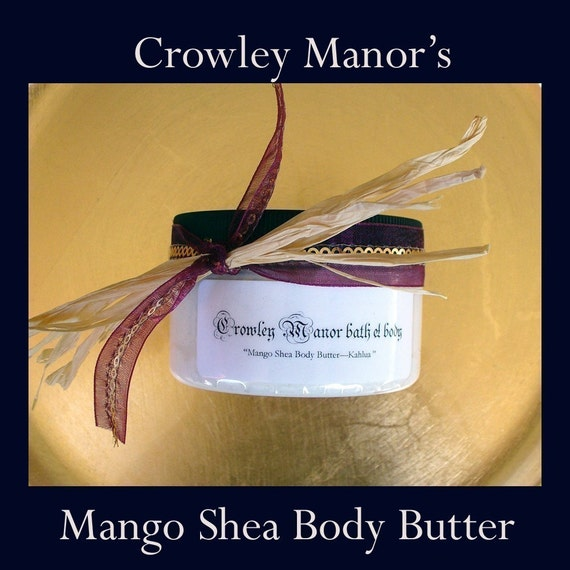 Bamboo Chi - Rich Thick  Luxurious Mango-Shea Body Butter with Aloe Vera Gel - 4 oz Jar - It's Awesome