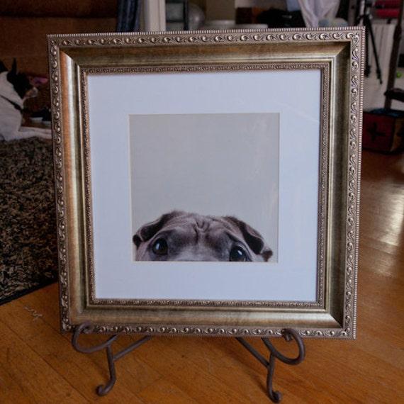 Example of a custom framed print