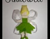 TINKERBELL Princess Disney Character Bow Clip Mini