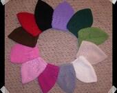 HUNTER GREEN Crochet Knit Hat Toddler Beanie