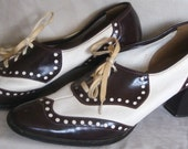 Vintage  womens wingtip shoes