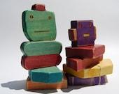 Robot Blocks Toy Set