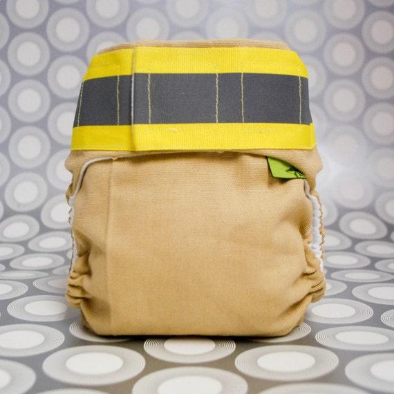Firefighter AIO Cloth Diaper-Small