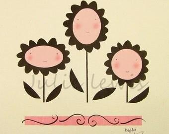 Hello Daisies Original Painting
