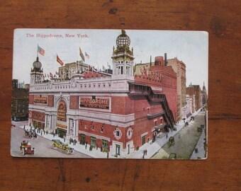 1911 NYC Hippodrome Postcard