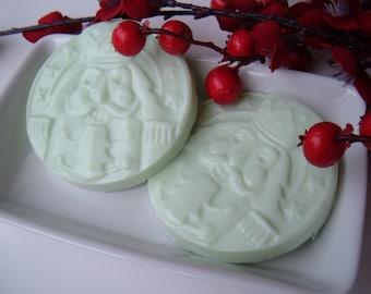 Holiday Nutcracker Soap, Christmas Gift, Holiday Gift, Stocking Stuffer, Nutcracker Gift