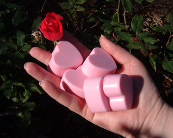 Handful of Hearts Soaps, Guest Soaps, Kids Soaps, Childrens Soaps, Heart Soaps
