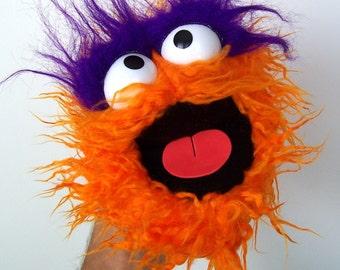 Handy Monster - Raggedy Orange