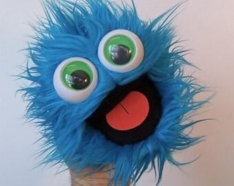 mini gumball monster - blue raspberry