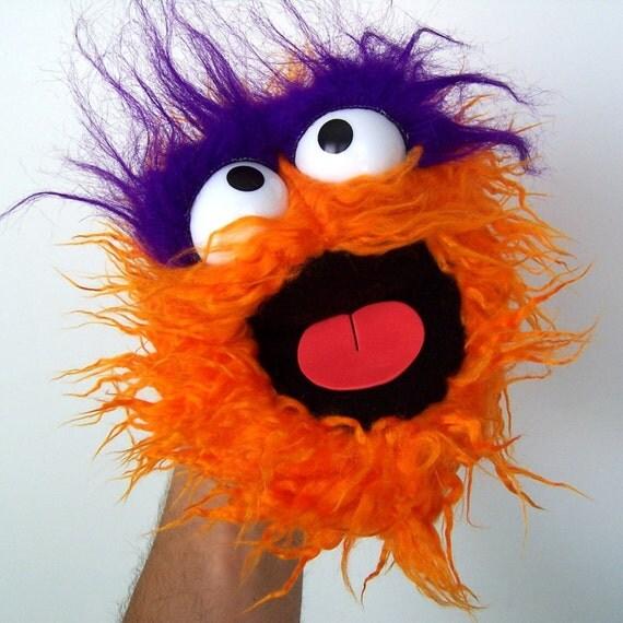Gumball Monster - Raggedy Orange