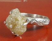 Huge Rough Diamond Solitaire
