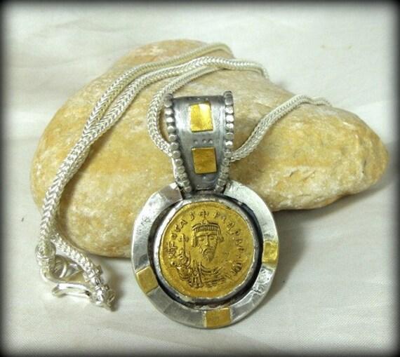 RESERVED FOR CYNDY Byzantine Gold