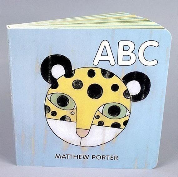 ABC Children's Board Book by Matthew Porter