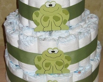 Easy INSTRUCTIONS How to Make a DIAPER CAKE for a baby shower Rolled and Swirl Versions