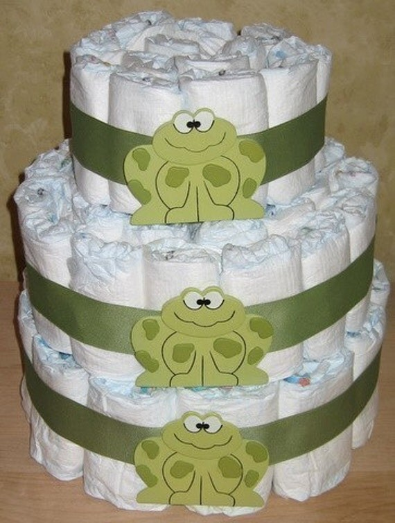 Baby Shower Diaper Cake Instructions Video