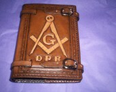 unique leather cover for Masons handbook