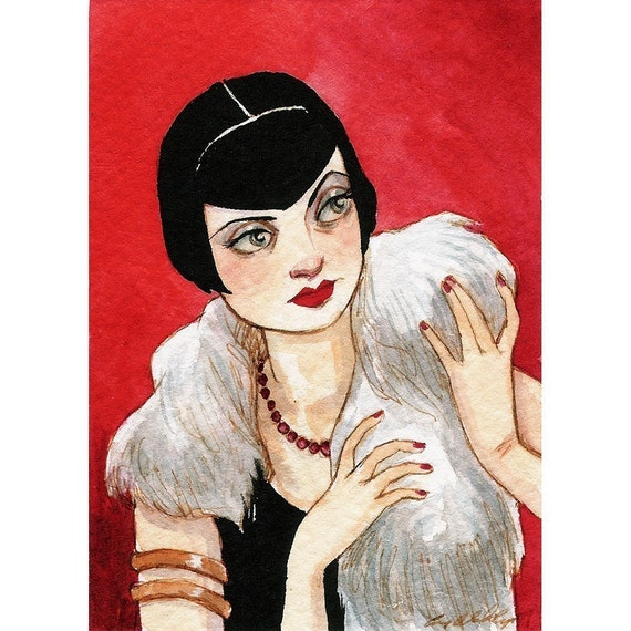 Vamping It Up -- ACEO Limited Edition Print by Amy Abshier Reyes 19/60