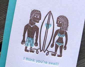 I Think You're Swell Card