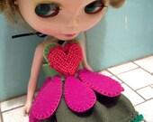 flower princess blythe dress