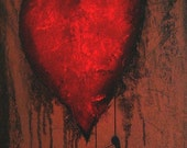 HOLIDAY SALE Heartache and Poetry 3 ... by Jaime Best - Dark Fantasy Art Print - Clearance