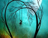 Fantasy Landscape Art Print - Heartache and Poetry 37 ... by Jaime Best