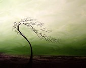 Modern Landscape Print Abstract Tree Art - Wither by Jaime Best
