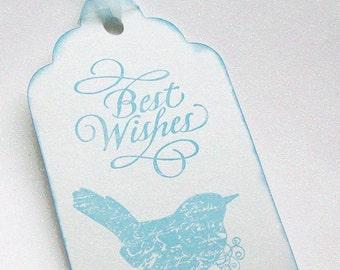 Wedding Wishing Tree Tags - Reception - Shower - Dove (set of 50)
