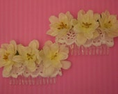 Plum Blossoms Lola Hair Combs Set - Clearance