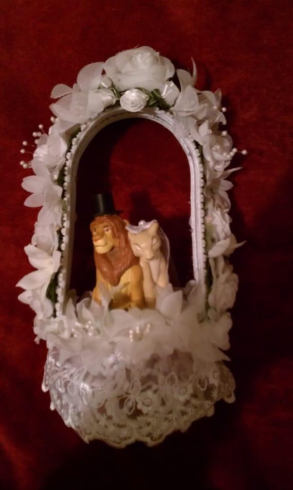 Lion King Wedding Cake Topper