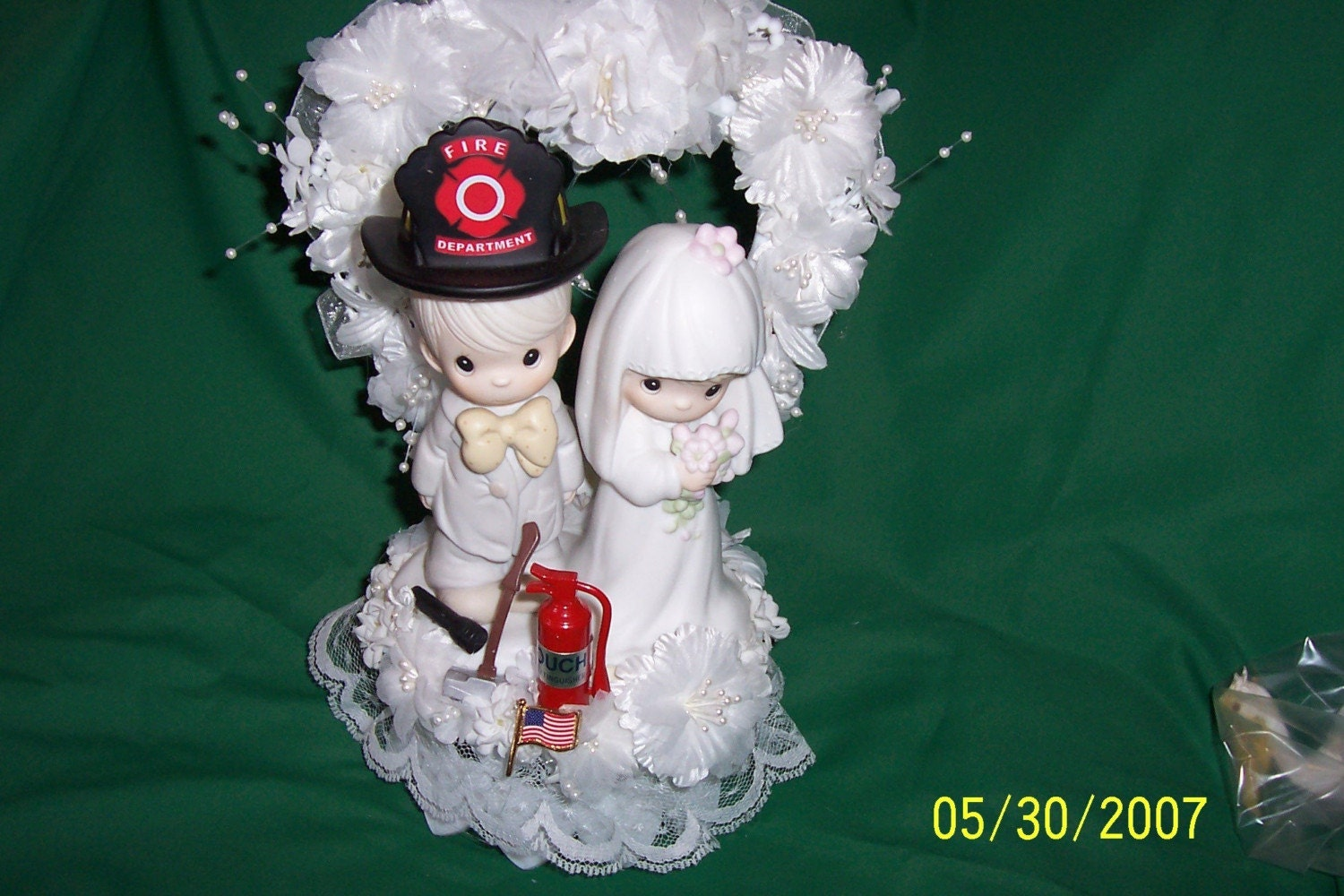 Precious Moments Firefighter Wedding Cake Topper By Cinhol