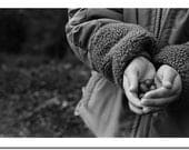 Briers in your hand - original gallery photo print kids