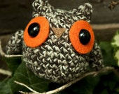 Amigurumi Dark Brown Owl