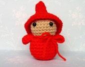 Amigurumi Red Gnome