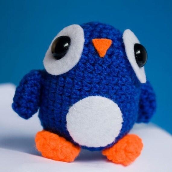 Amigurumi Blue Penguin